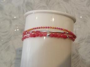 bracelet 3 rangs réf : 4099 R prix : 27€